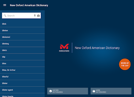New Oxford American Dictionary- screenshot thumbnail