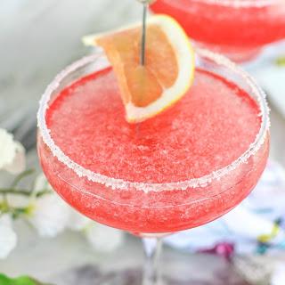 Pink Salty Dog Cocktail.