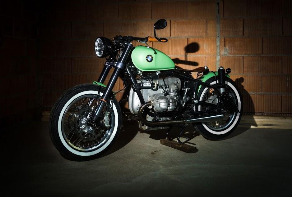 BMW Motorrad Bobber mit Boxer Triebwerk