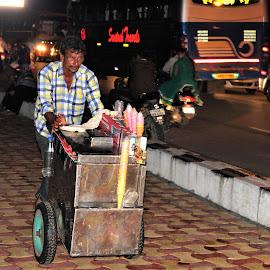 Ice cream vendor by Sarforaz Bin Bashar - People Street & Candids ( #indian_photography_club #storiesofindia  #streets.of.india, #wanderers.of.india #travelrealindia #india.photo #wowtamilnadu, #incredibleindiaofficial, #potographers_of_india, #canon_photos, #indianshutterbugs #india.photography, #world_photography.hub,  )