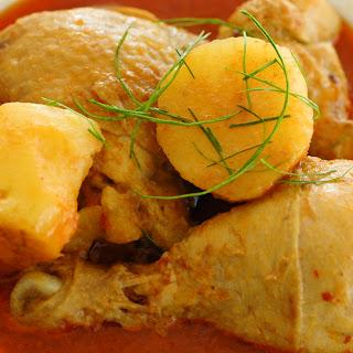 * Chicken Curry Kapitan