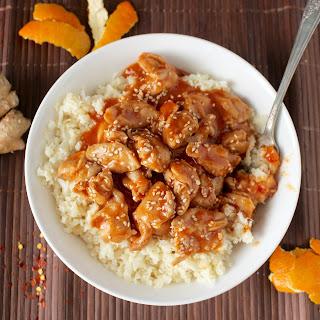 Paleo Orange Chicken