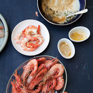Peel-and-Eat Shrimp with Spicy Herb Butter