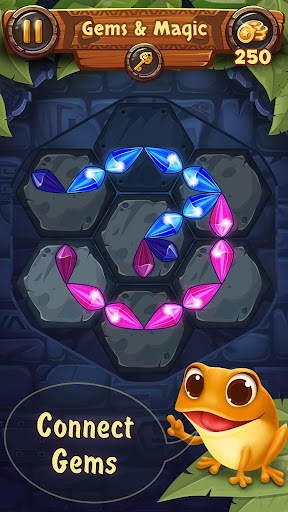 Gems & Magic adventure puzzle apktram screenshots 6