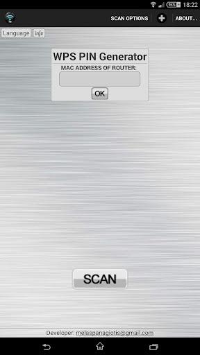 Wifi WPS Unlocker 2.3 screenshots 1