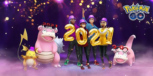 [官方活動]跟著Pokemon GO一起迎接新年吧!