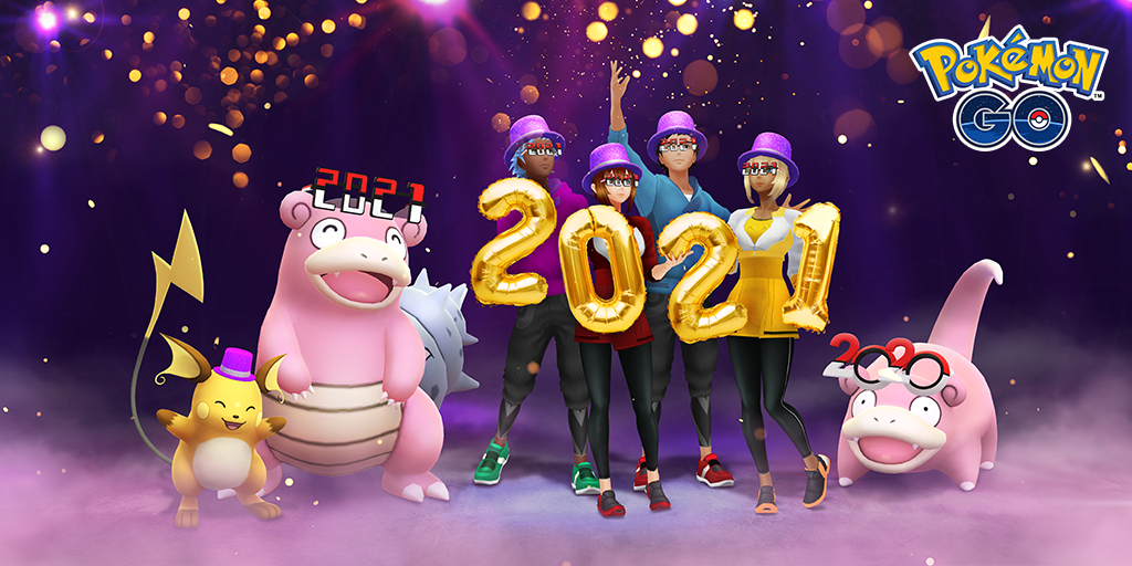Celebrate the new year with Pokémon GO!