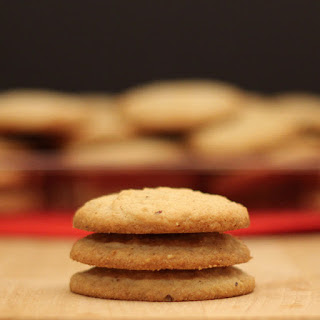 Olive Oil and Hazelnut Cookies.