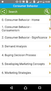 Learn Consumer Behavior - náhled
