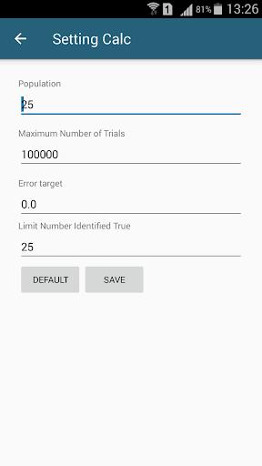Algebra Equation Calculator 1.3.3 screenshots 3
