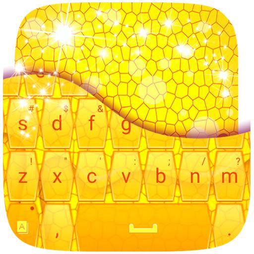 个人化のスウィートハニーキーボード LOGO-HotApp4Game