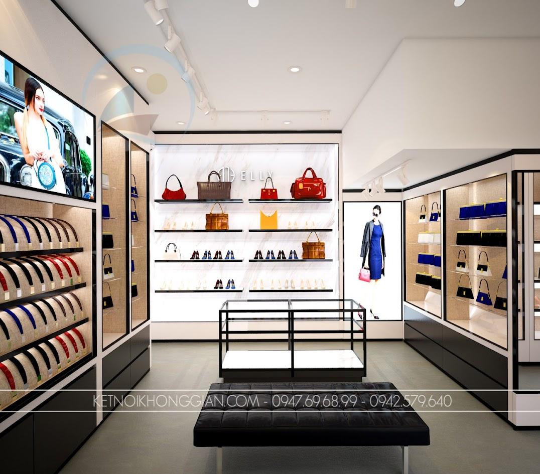 thiết kế shop túi xách trung hòa 13