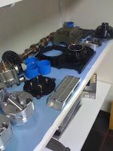 Photo: Alle onderdelen gereed.