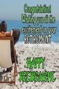 retirement greetings apps on google play