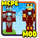Addon Iron Man MCPE - Minecraft Mod icon