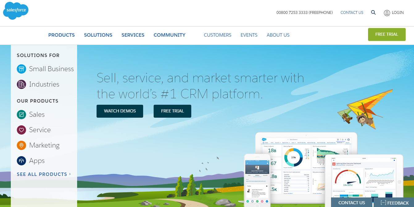 CRM B2B Software