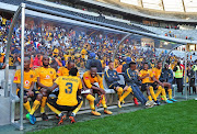 Kaizer Chiefs bench after the Absa Premiership 2017/18 game between Ajax Cape Town and Kaizer Chiefs at Cape Town Stadium on 12 May 2018.