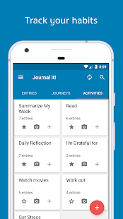 Journal it! - tagebuch, Journale, notizbuch Screenshot