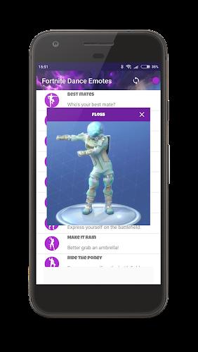 Dances from Fortnite (Dance Emotes) Android App Screenshot