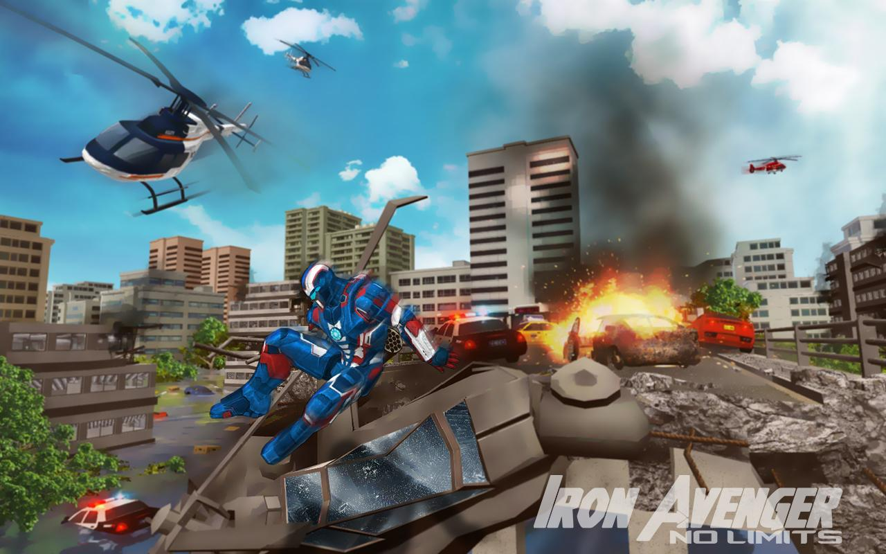 Image result for Iron Avenger - No Limits game size