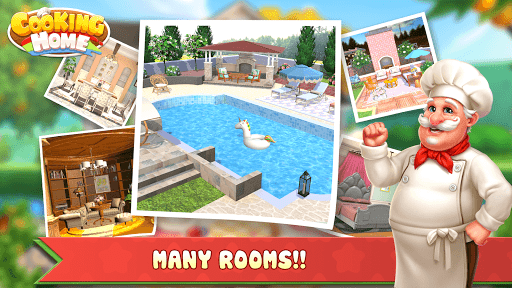 Cooking Home: Design Home in Restaurant Games 1.0.10 screenshots 6