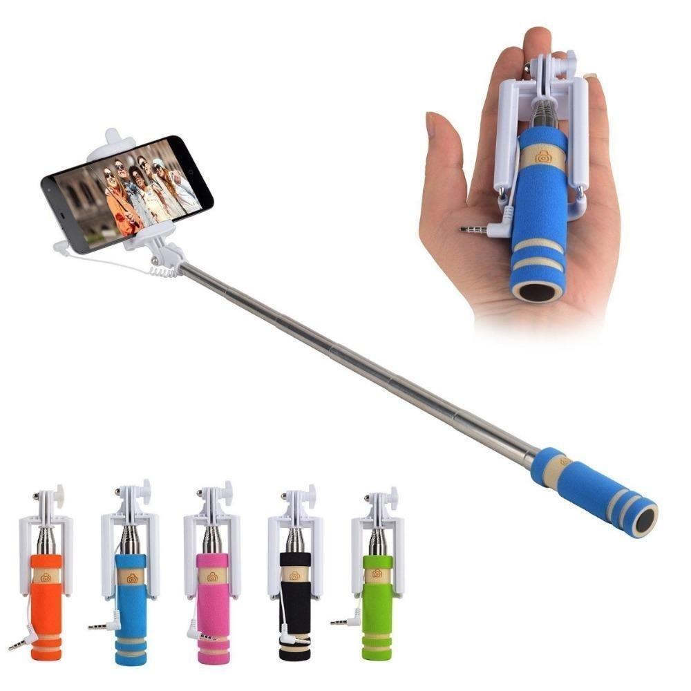 Classytek Aux Cable Mini Selfie Stick