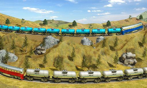 Indian Train City Pro Driving- Oil Tanker Train  screenshots 4