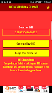 IMEI Number Generator Changer- screenshot thumbnail