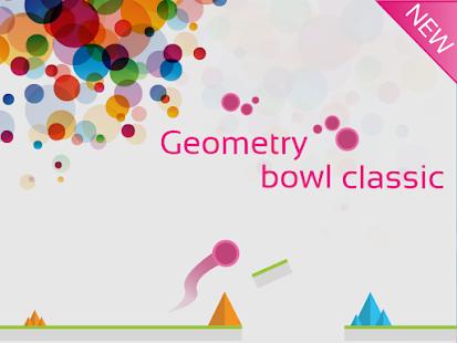 Geometry bowl classic Ekran Görüntüsü
