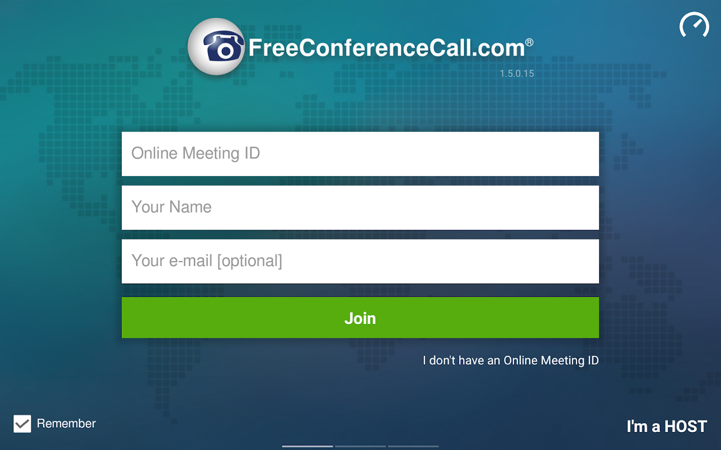 Free Conference Call- screenshot