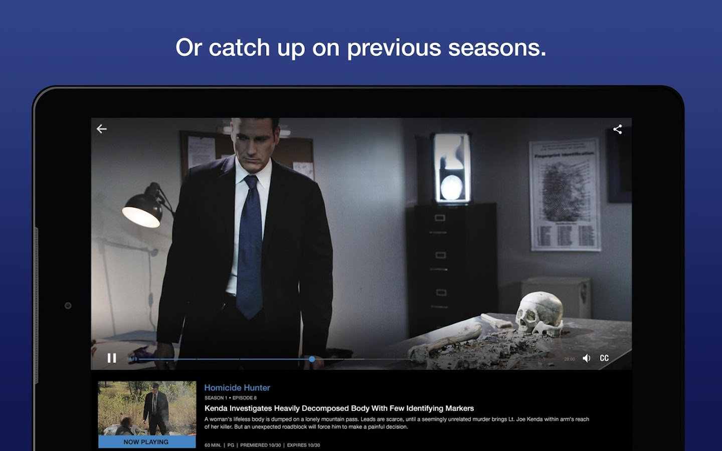 Investigation Discovery GO- screenshot