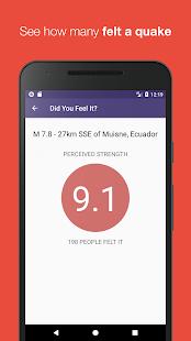 Quake Info - náhled