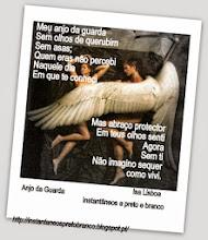 Photo: Meu anjo da guarda Sem olhos de querubim Sem asas; Quem eras não percebi Naquele dia Em que te conheci