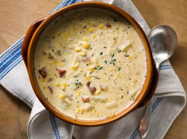 how to make corn chowder easy