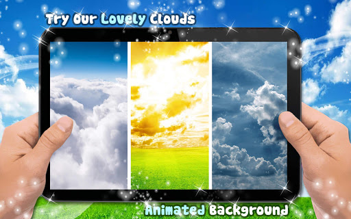Moving Clouds Live Wallpaper With Sound Motion Screenshot 8