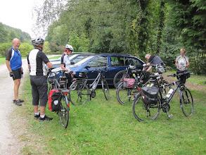 Photo: Samstag Nachmittag - Vorbereitung zur ersten kleinen Rundfahrt.