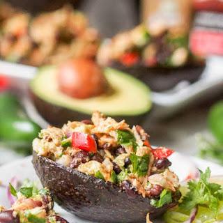 Mexican Tuna Salad with Avocado {GF, DF} Recipe