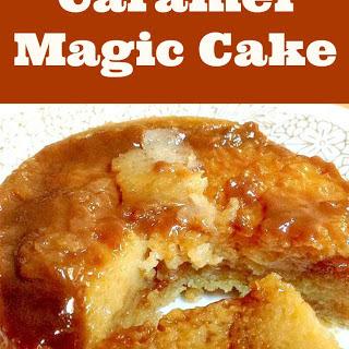Caramel Magic Cake