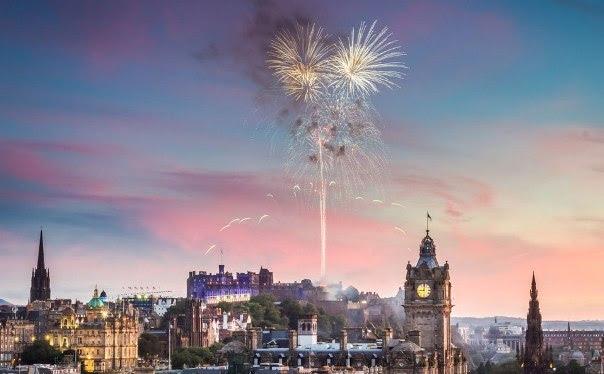 Réveillon em Edimburgo, Escócia