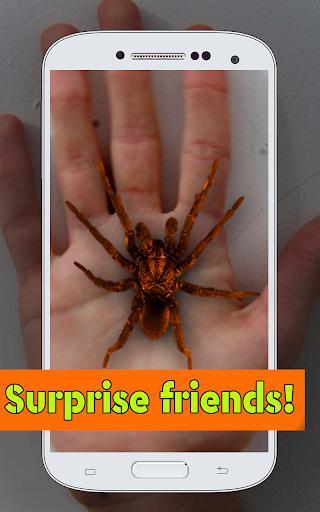 Spider Hand: Fun Joke