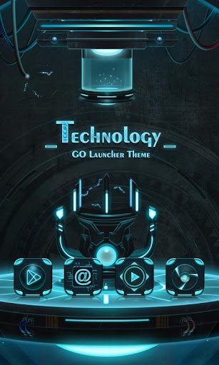 Technology GO Launcher Theme  screenshots 1