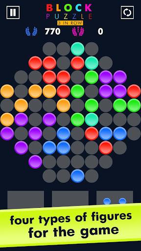 Block Puzzle Match 3 Game apktreat screenshots 2