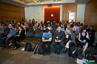 Photo: Before our first event: 90 second snap talk vignettes of our talks.