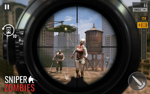 Sniper Zombies: Offline Game modavailable screenshots 1