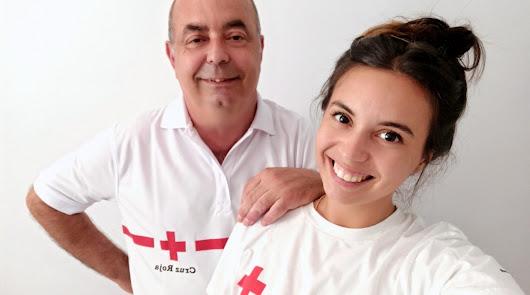 Un padre y su hija se hacen voluntarios en plena pandemia. Esta es su historia