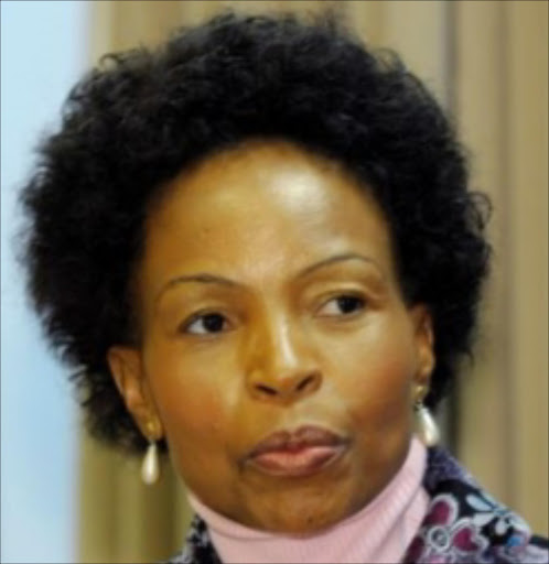 Rural development and land reclaims minister Maite Nkoane-Mashabane