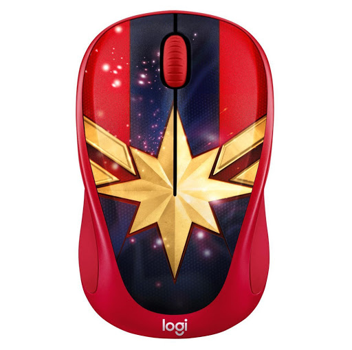 Logitech M238 Captain Marvel-1