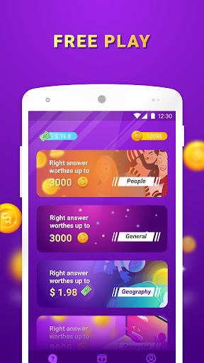 Lucky Quiz APK MOD – Monnaie Illimitées (Astuce) screenshots hack proof 1