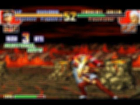 The kof fight 2002 Screenshot