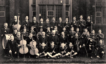 Photo: School Orchestra mid 1920's